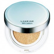 Laneige Snow BB Soothing Cushion SPF 50+ PA++ Pore Control No21 Natural Beige + FREE Refill